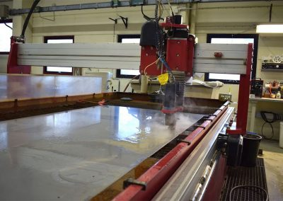 waterjet cutting machine stainless steel Bfoab Conveyor AB Vadstena